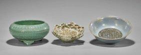 Three Chinese Ceramic Bowls