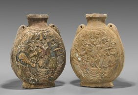 Four Chinese Pottery Vases