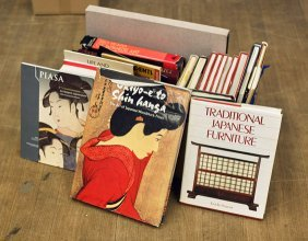 Japanese Books: Woodblock & Interior