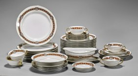 Collection Of 35 French Limoges Dinnerware