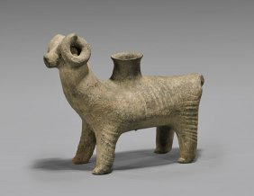 Near Eastern Pottery Rhyton
