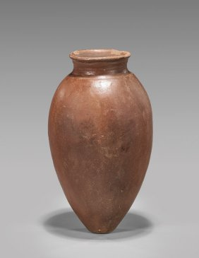 Pre-dynastic Egyptian Red Jar