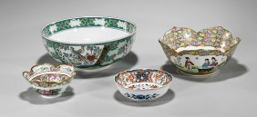 Four Chinese & Japanese Porcelain Bowls