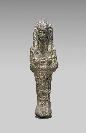 Egyptian-style Carved Stone Ushabti