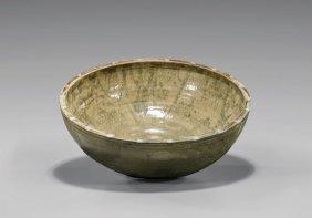 Tang Dynasty Glazed Pottery Bowl