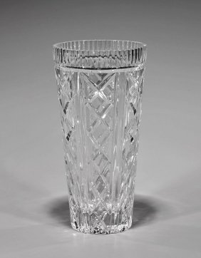 Waterford Cut Crystal Vase
