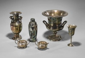Various Silver & Silver-plate Vessels