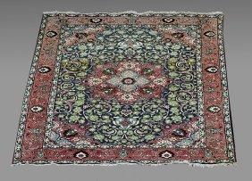 Vintage Persian Tabriz Wool Rug