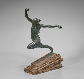 Vintage Bronze Sculpture After Le Verrier