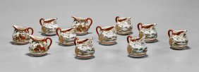 Japanese Kutani Creamers & Chinese Ceramics