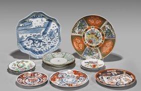 Eleven Various Decorative Porcelain Plates