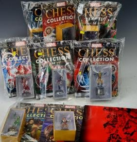 Marvel Comics Chess Collection Grouping