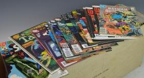 Long Box Of Assorted DC Comic Books