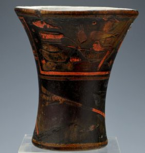 Peruvian Wooden Vessel (kero)