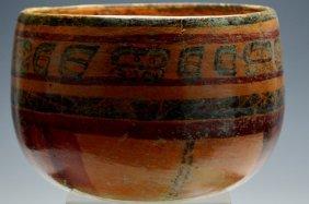 Mayan Polychrome Bowl
