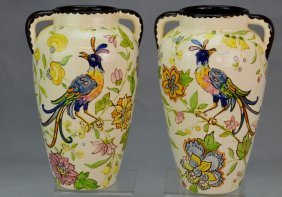 Vallauris France Faience Vase Grouping