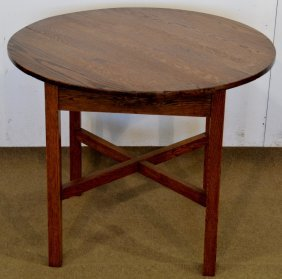 Mission Oak Dinning Table