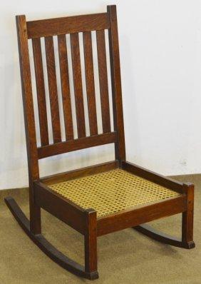 Mission Oak Rocking Chair