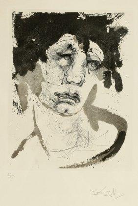 Salvador Dali 1904 Figueras  - 1989 Figueras - 'Por