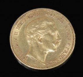 20 Mark Deutsches Reich/preußen, 1890 A. 900e