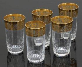 4 Biergläser Und 1 Bierglas 'thistle Gold' Ve