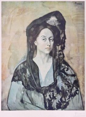Pablo Picasso (1881-1973 Spanish) ''madame Ricardo