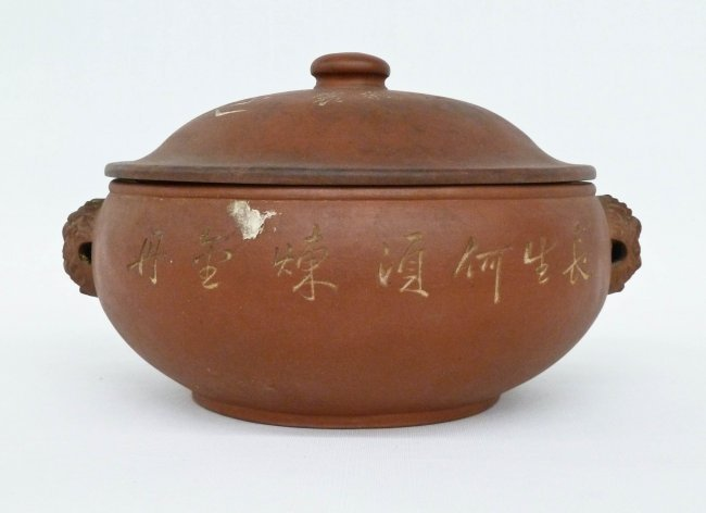 Asian clay cooking pots