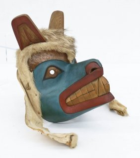 Duane Pasco (b.1932 Washington) Bear Mask