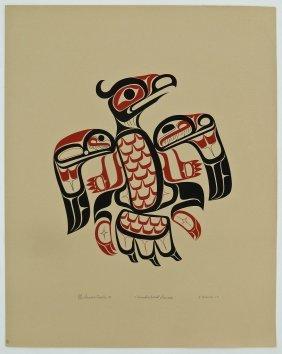 Joe David (b.1946 Nuu-chah-nulth) ''thunderbird