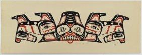 4pc Don Yeomans (b.1958 Haida) Native Serigraphs.