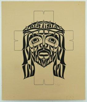 Roy Vickers (b.1946 Tsimshian) Untitled Cross 1977