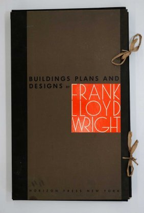 Frank Lloyd Wright Building Plans And Designs With Text