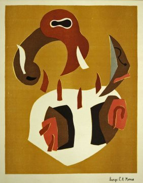 George L K Morris, New York (1905-1975) 1930's Color