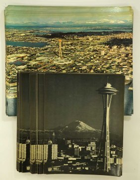 Group Original 1962 Seattle World's Fair Souvenir