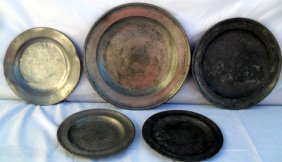 18th C Continental & American Pewter