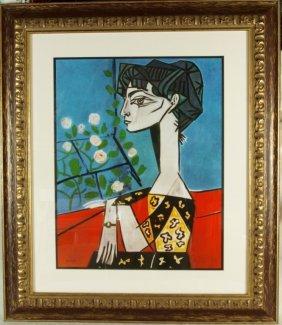 Pablo Picasso Quot Portrait Of Madame Z Quot Lot 175