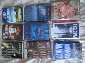 9 AUTHOR HAND SIGNED BOOKS