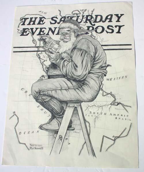 Norman Rockwell Original Pencil Drawings Img3 4