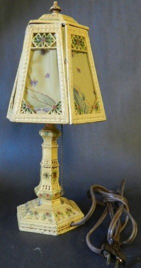 Floral Oriental Table Lamp