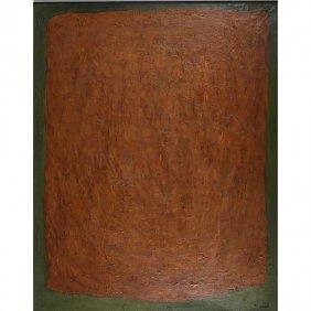Rex Ashlock (American, 1918-1999) Oil On Canvas