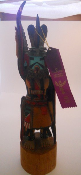 KACHINA SIGNED ARNOLD YOUVELL