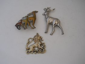 ANIMAL JEWELRY PINS