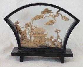 Chinese Cork Diorama