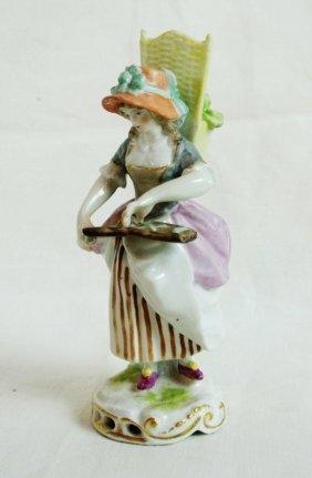 18'th Century Hochst Hard Paste Figurine