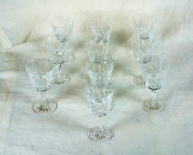 Lot Of 10 Waterford Goblets