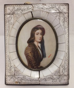 Miniature Portrait After Joseph Stieler