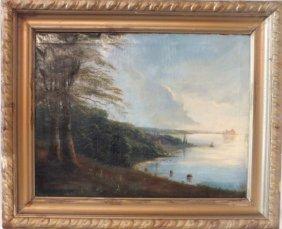 """Hudson River School """"landscape"""""""