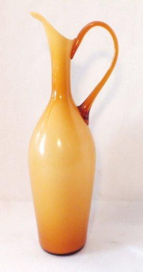 Italian Murano Glass Ewer