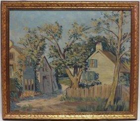 "1939 Sister Mignonne Thompson ""impressionist Landscape"""