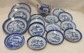 Lot Of Chinese Canton Porcelain